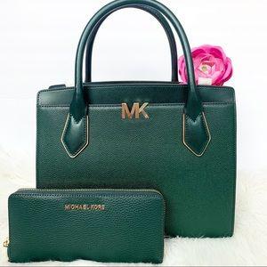 Handbags - 🔥SALE NWT Michael Kors Montgomery Satchel Set